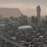 2096年的地球都市為動畫短片《INVASION》製作的場景