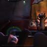老鼠們在家開趴動畫短片《Genie & the Rat》的其中一幕 ,我在這幕負責建模,燈光,材質,合成。人物骨架及表演由我的搭檔潘柏瑜進行