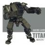 Titan Mark V 動畫短片《INVASION》中使用的機器人模型