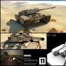 動畫短片《INVASION》中使用的坦克車模型 Behemoth Tank
