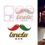 Uncle Bar – 美式餐廳識別設計「Uncle bar」,客戶希望識別標誌能傳達親切溫馨的感覺。 以「Uncle」單字發想出鬍子大叔的翹鬍子,並做細部角度調整,標準字需要強調美式食物的出餐速度以及豪邁,但是又不能過於冷硬,於是做傾斜六十度並在折角處輔以圓角修飾的設計。標準色的紅、 綠、黃,則分別代表番茄、墨西哥辣椒與黃芥末醬。