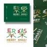 聚樂 - 聖誕卡片設計將「Merry Xmas」各字母分別拆解,重新組合為漢字「聚」與「樂」兩個漢字。 希望大家在聖誕佳節時,都能齊聚一堂、分享歡樂。