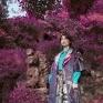 Illusion of Kyoto將東洋美學與禪意融入服裝設計,透過服裝創作體現自我心中對於異國旅行的美好記憶。
