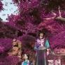 Haru -Kyoto以日本京都春日裡落櫻繽紛的意象作為設計之發想,透過服裝創作體現自己在旅行中所感受到日本季節變換的美。