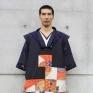 Memory of Kyoto1-2以日本京都旅行經驗中自己對於異國旅途的思念作為設計發想,透過服裝創作詮釋內心所乘載旅行回憶的美好事物。