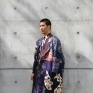 Memory of Kyoto1-3以日本京都旅行經驗中自己對於異國旅途的思念作為設計發想,透過服裝創作詮釋內心所乘載旅行回憶的美好事物。