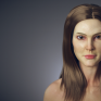 Female Head Study (2015)與3D 建模師Guannan Lu合作的作品。我負責的是部分材質的繪畫、毛髮與皮膚材質的調整。