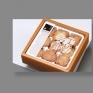 鳳盒子包裝手工餅乾及鳳梨乾標準字設計