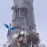 築塔人The Tower角色、場景、物件3D建模及貼圖 (折翼鳥-張繼堯 、骨架與動態-周鼎恆)