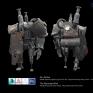 築塔人The Tower角色3D建模及貼圖 (骨架與動態-周鼎恆、2D概念設計-吳偉嘉)
