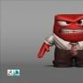 Inside Out-Anger3D雕刻(2D參考Google搜尋圖片)