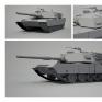 坦克3D建模
